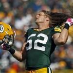 Clay Matthews whips his hair