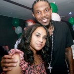Udonis Haslem and Faith Rein - Photo from SocialMiami.com