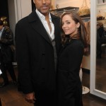 Rick Fox and Eliza Dushku/Photo by Jamie McCarthy