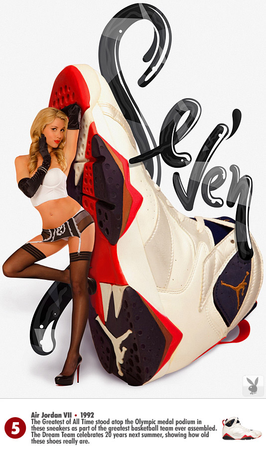 hot sale online 3e998 18212 Playboy Pairs 23 Air Jordans With 23 Beauties  PICS  - Ballertainment
