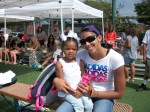 Candace Parker and daughter Lailaa