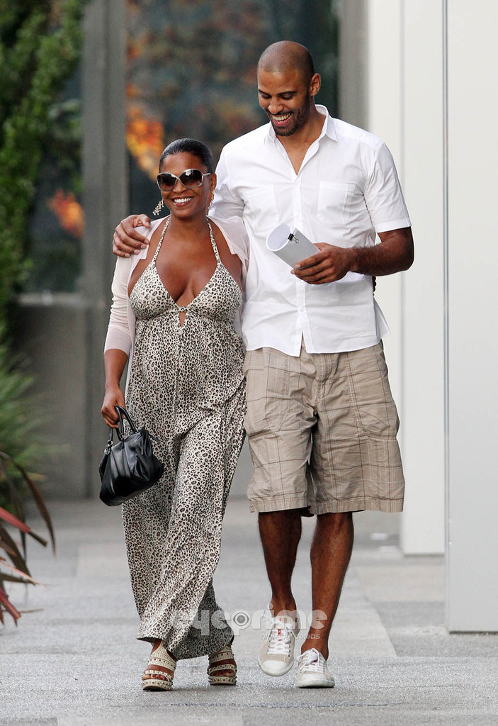 Pregnant Nia Long and Baby Daddy Ime Udoka