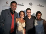 Matt Barnes, Gloria Govan, Jon B. and wife Danette