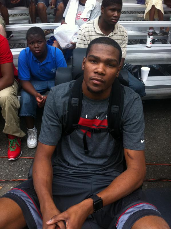 Kevin Durant Rucker Park