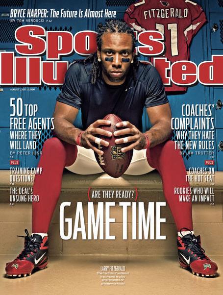 Larry Fitzgerald Sports Illustrated
