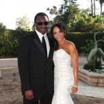 Coach Avery Johnson and wife Cassandra