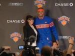 La_La_Carmelo_Knicks_Presser