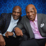 Holyfield and Tyson April 2012 via Instagram