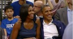 President Obama_Michelle_Obama_Kiss Cam