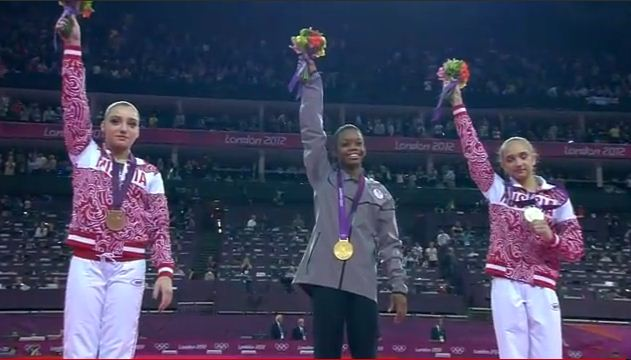 Gabby Douglas wins gold