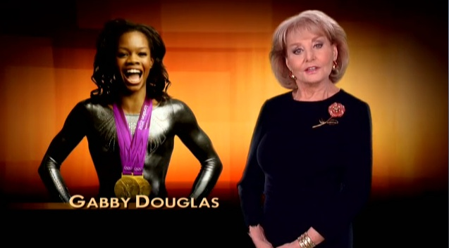 Gabby Douglas Barbara Walters Most Fascinating People 2012