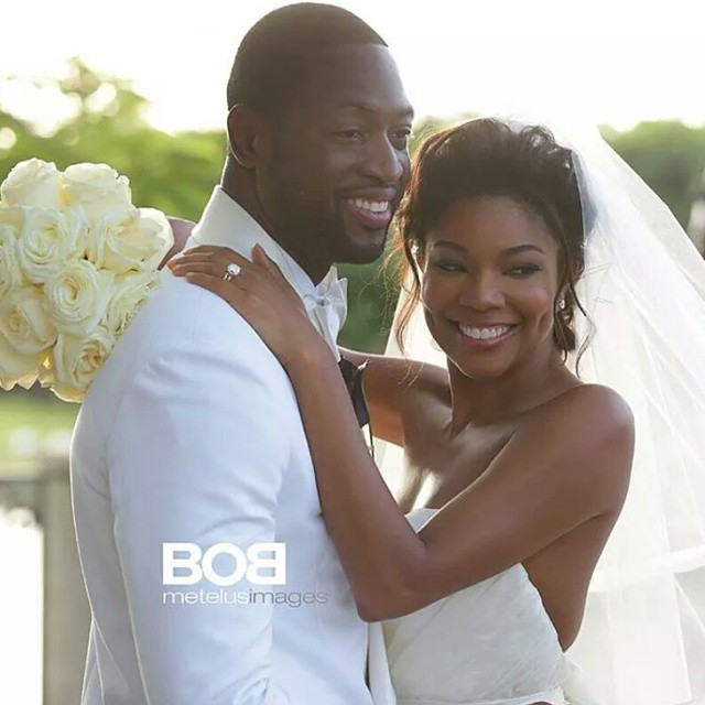 Dwyane Wade and Gabrielle Union Wedding