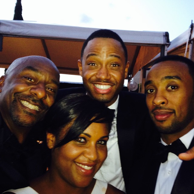 JUMPED THE BROOM: Dwyane Wade and Gabrielle Union tied a ...